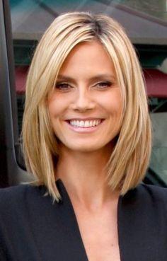peinados faciles para mujeres de 40 en long bob (4)