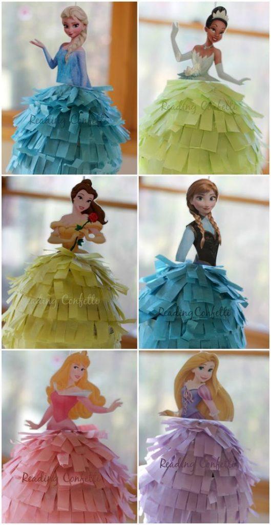 pinatas de princesas (3)