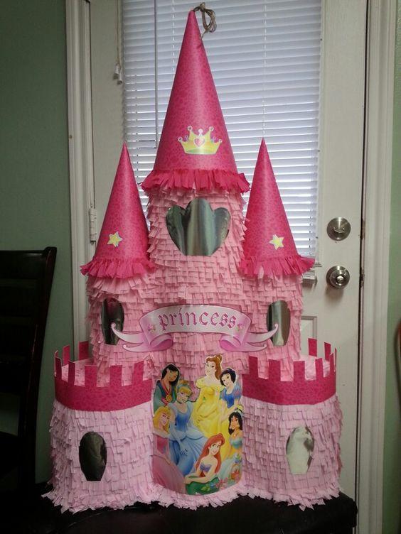 Piñatas de princesas Disney