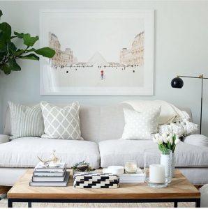 salas modernas en color blanco (2)