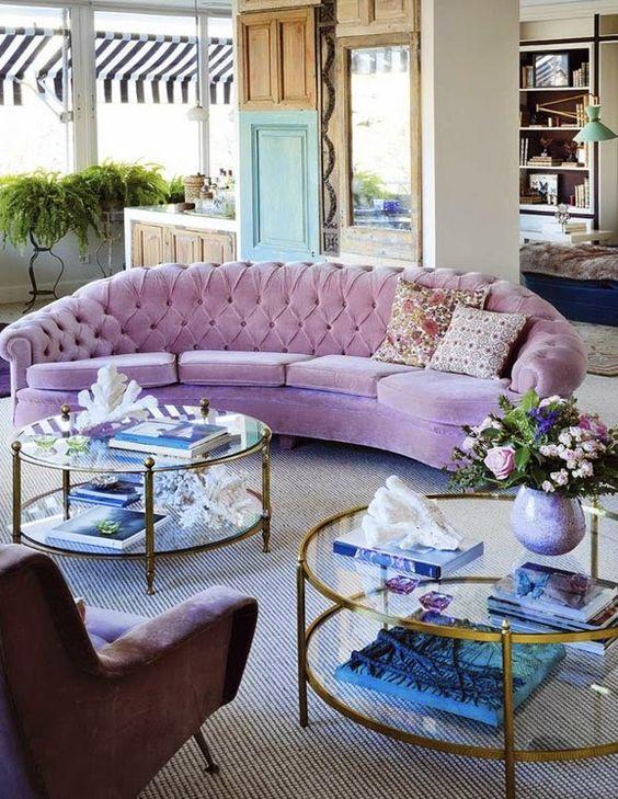 tendencia en decoracion de salas modernas 2019