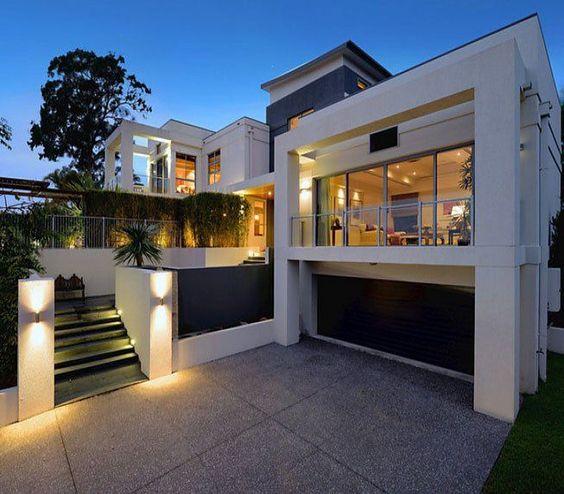 Casas modernas 2018 120 im genes de exteriores e interiores for Diseno terrazas modernas