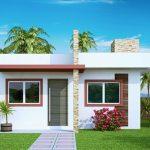 Casas modernas pequenas 48 metros