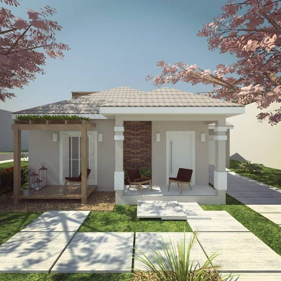 Casas modernas pequenas de una planta 2 curso de for Interiores de casas modernas de una planta