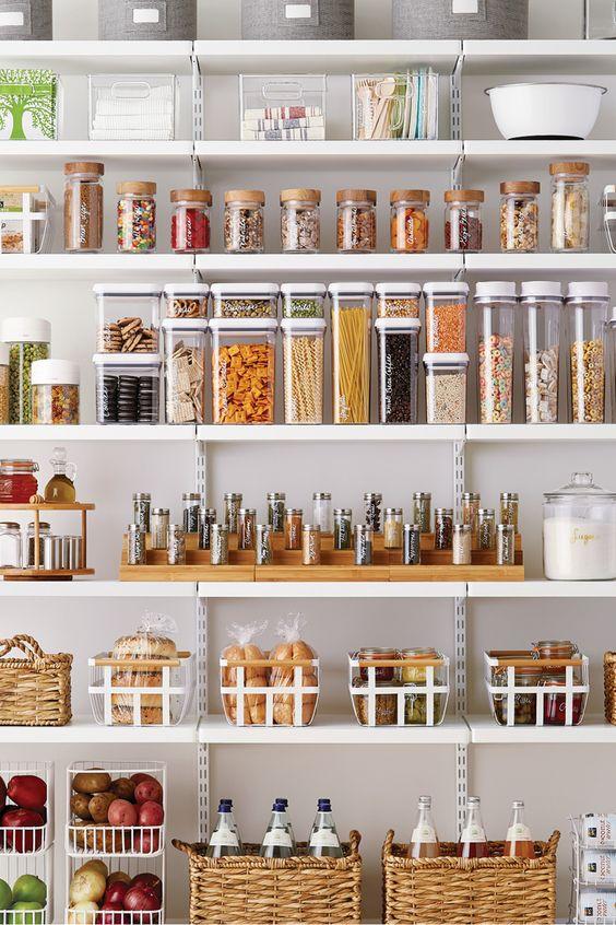 como organizar la despensa de la cocina (1)