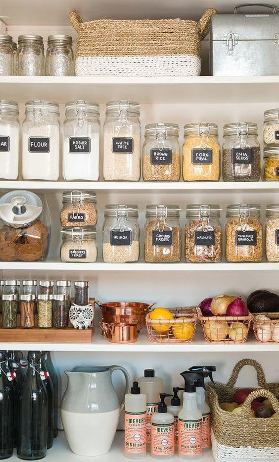 Cómo Organizar La Despensa De La Cocina Curso De Organizacion Del Hogar Y Decoracion De Interiores