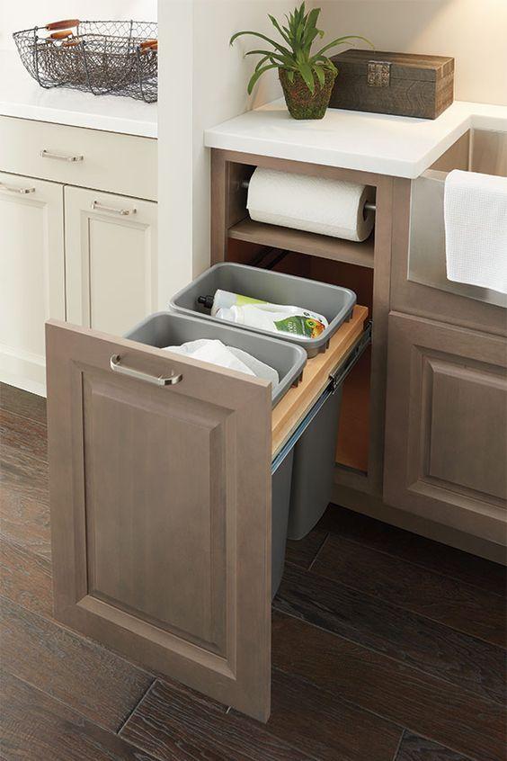 Como organizar muebles de cocina