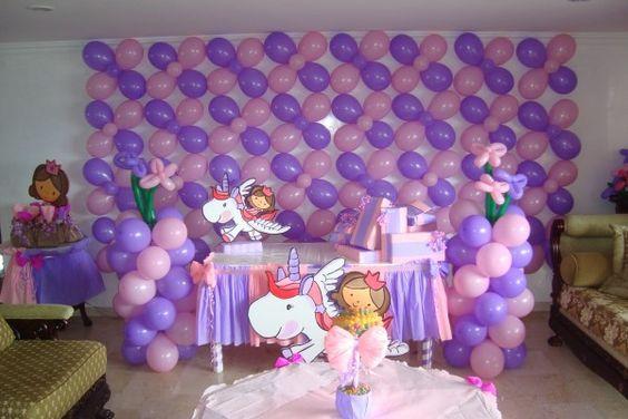 Decoracion cumpleaños niña 3 años