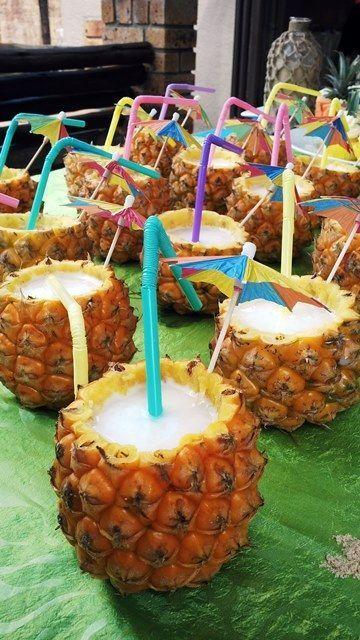 Fiesta hawaiana para mujeres