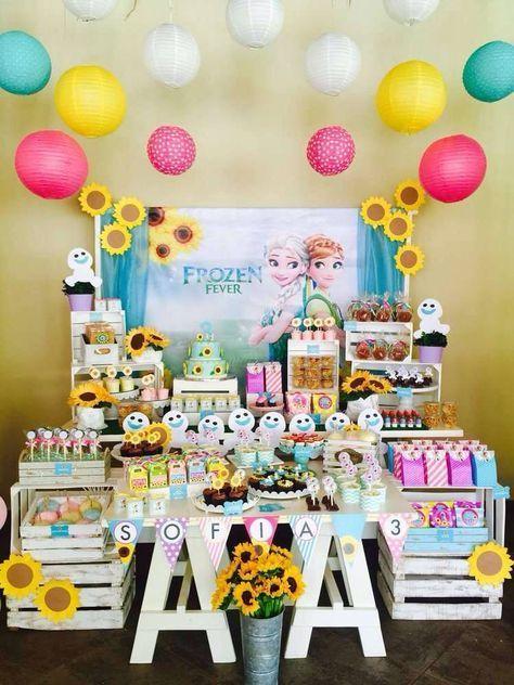 cdc0f0cd4 Fiestas tematicas de 3 años niña