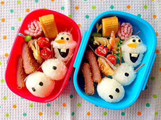 lunch creativos para niños