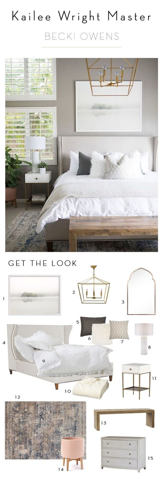 Muebles para decorar habitaciones modernas
