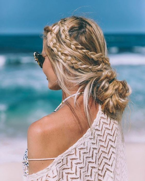 Peinados de playa