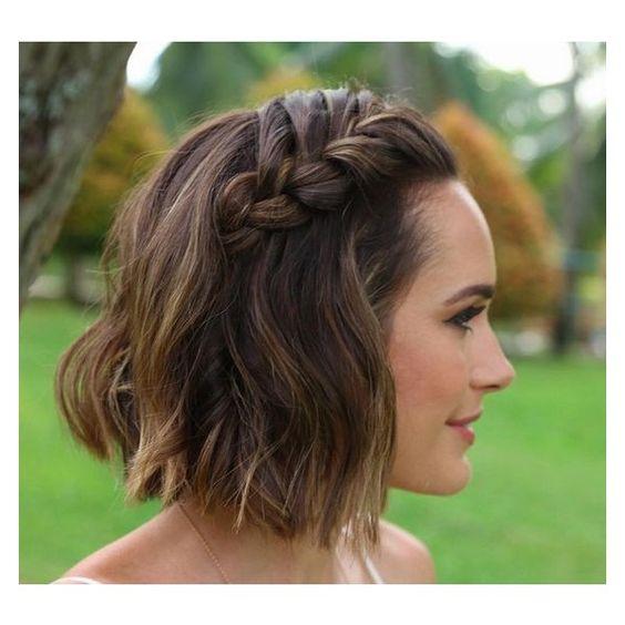 peinados para la playa cabello corto