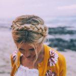 peinados para la playa con trenzas