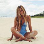 Peinados para playa cabello largo
