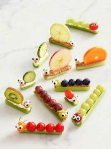 refrigerios para kinder