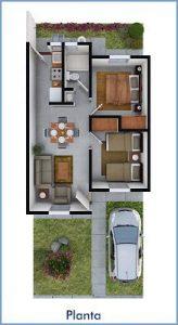 Planos de casas 2 dormitorios economicas (3)