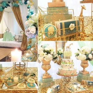 baby shower tema safari