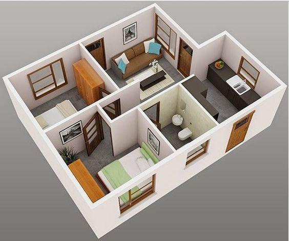casa 2 recamaras 3d (2)