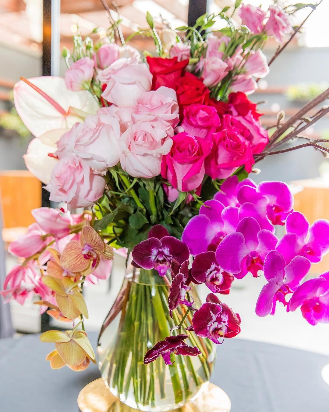 centros de mesa con flores naturales 2019