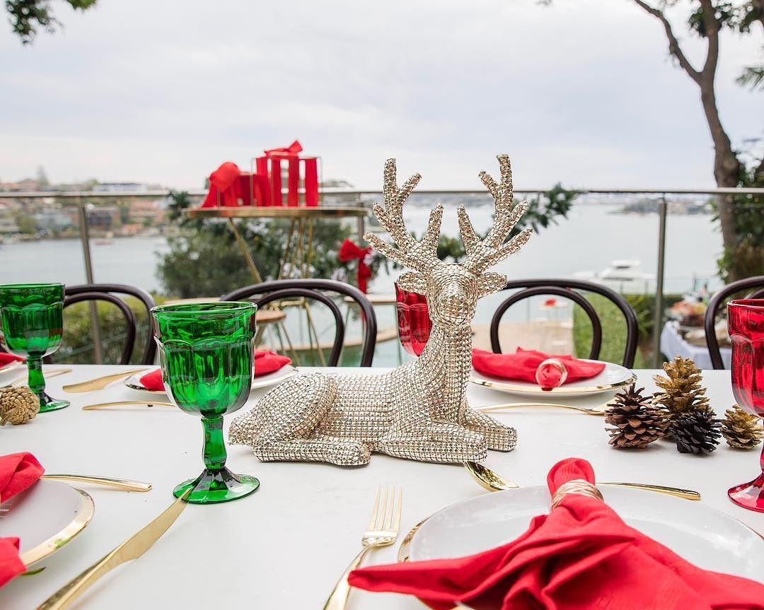 centros de mesa navideños para fiesta 2019