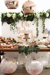 checklist para organizar un baby shower 2