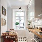 Cocinas pequeñas alargadas