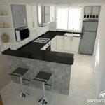 Cocinas pequeñas en L