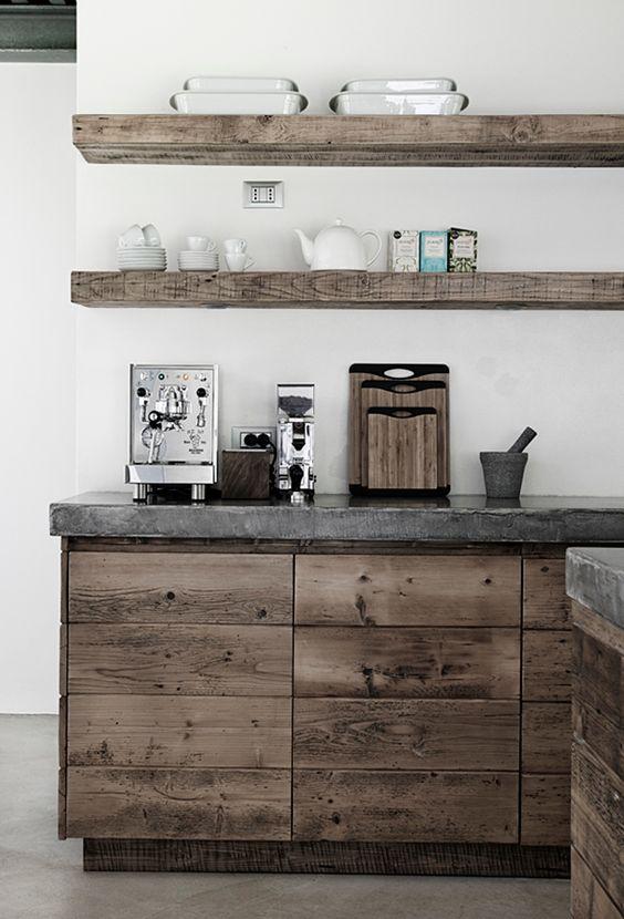 cocinas pequenas estilo industrial (2)