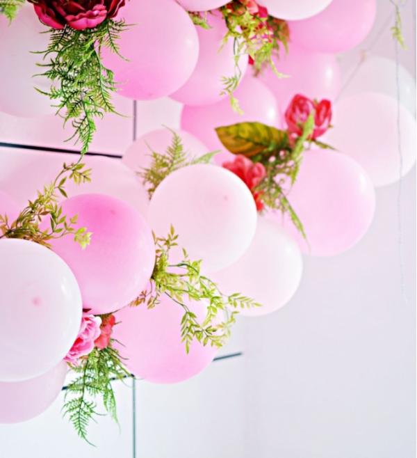 como hacer guirnaldas de globos modernos (1)