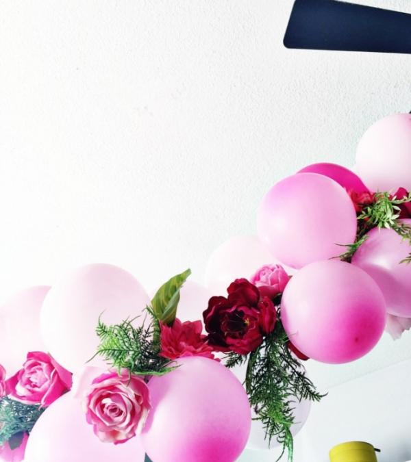 como hacer guirnaldas de globos modernos (4)
