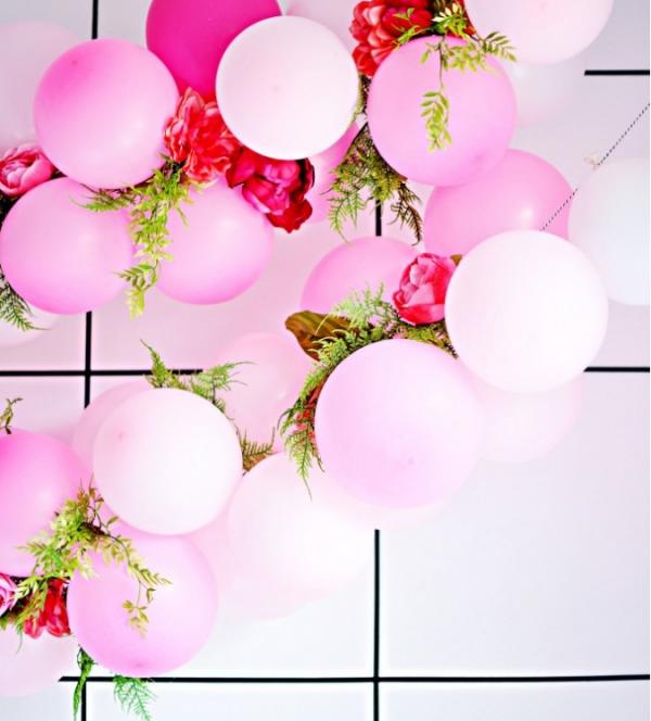 como hacer guirnaldas de globos modernos (5)