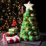 Croquembouche navideño