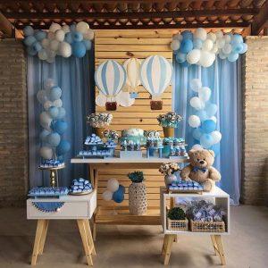 decoracion baby shower oso