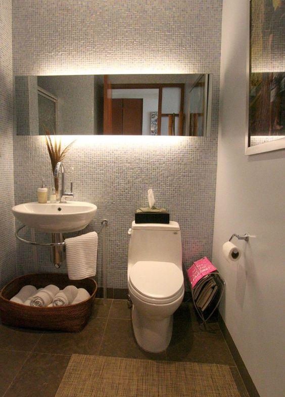 Decoracion de baños pequeños y sencillos