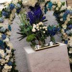 decoracion de bodas con lila gris 2018 (1)