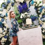 decoracion de bodas con lila gris 2018 (2)