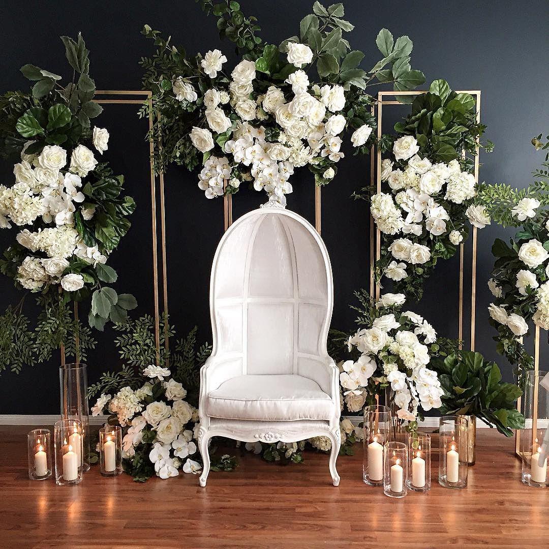 Mamparas con guirnaldas de flores y telas para decorar - Como hacer una mampara ...