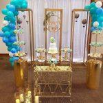 decoracion de eventos con mamparas de herreria
