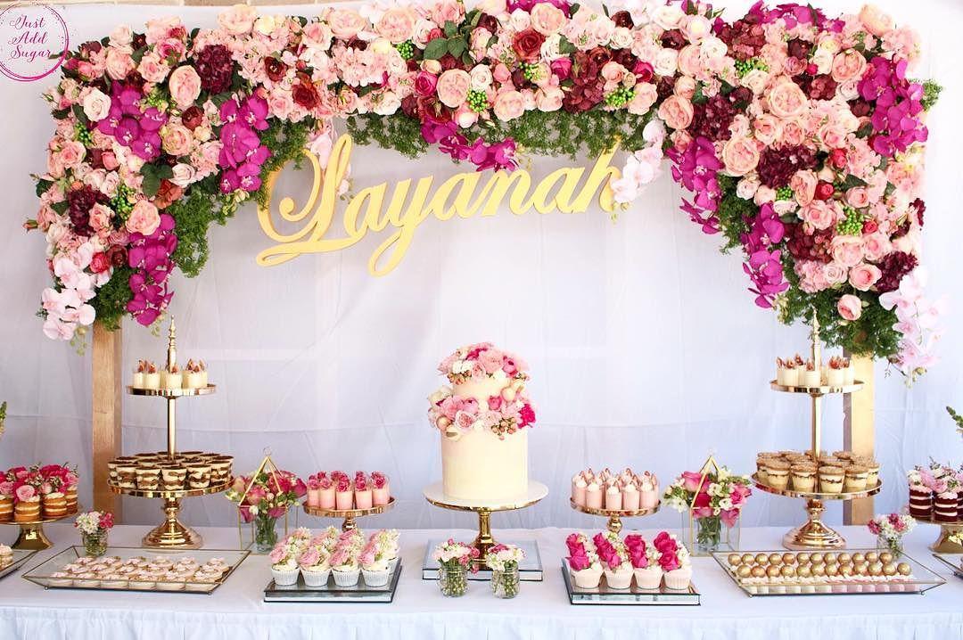 Decoracion de fiesta decoracin fiestas y mesas dulces en - Decoracion fiesta rosa ...