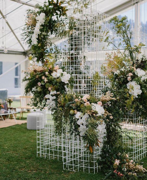 Backdrops bonitos para boda