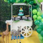 decoracion de fiestas infantiles 2018 animales a escala