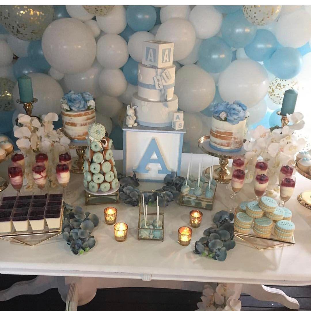 decoracion de torre de donas para mesa de dulces (3)