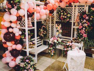 decoracion fiesta con globos gigantes tono mate (2)
