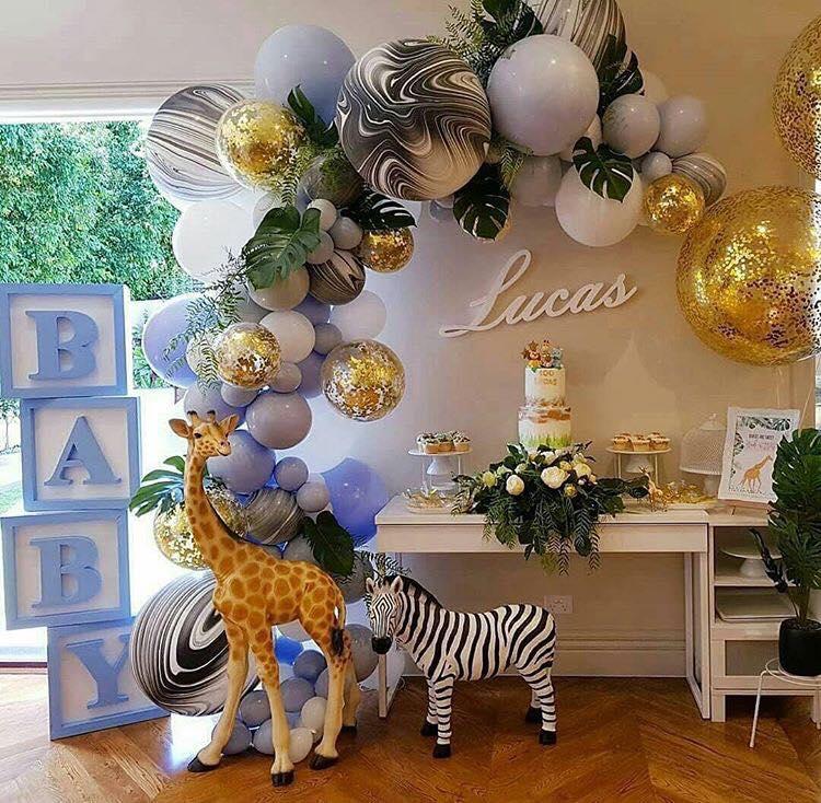 decoracion globos metalicos 2018