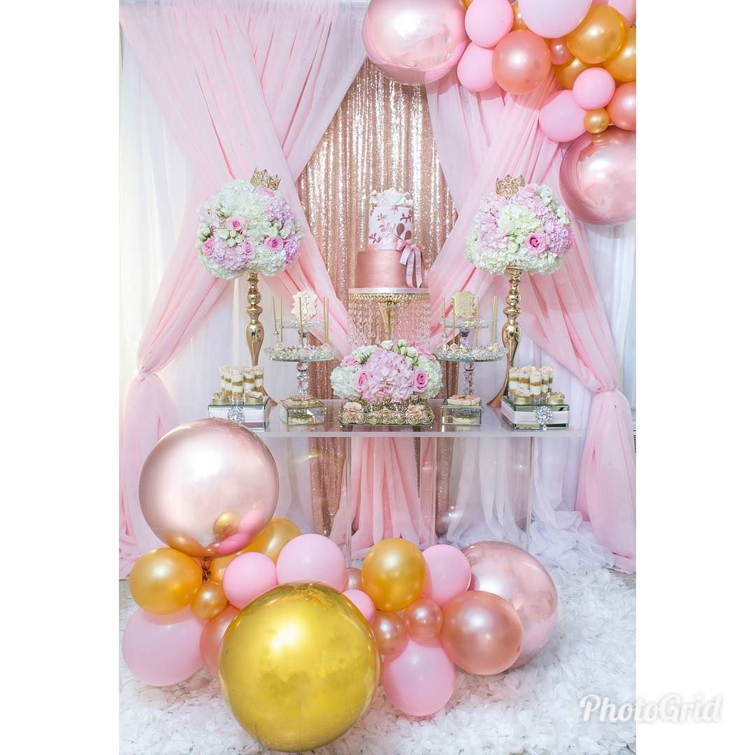 decoracion mesa de acrilico para fiestas (1)