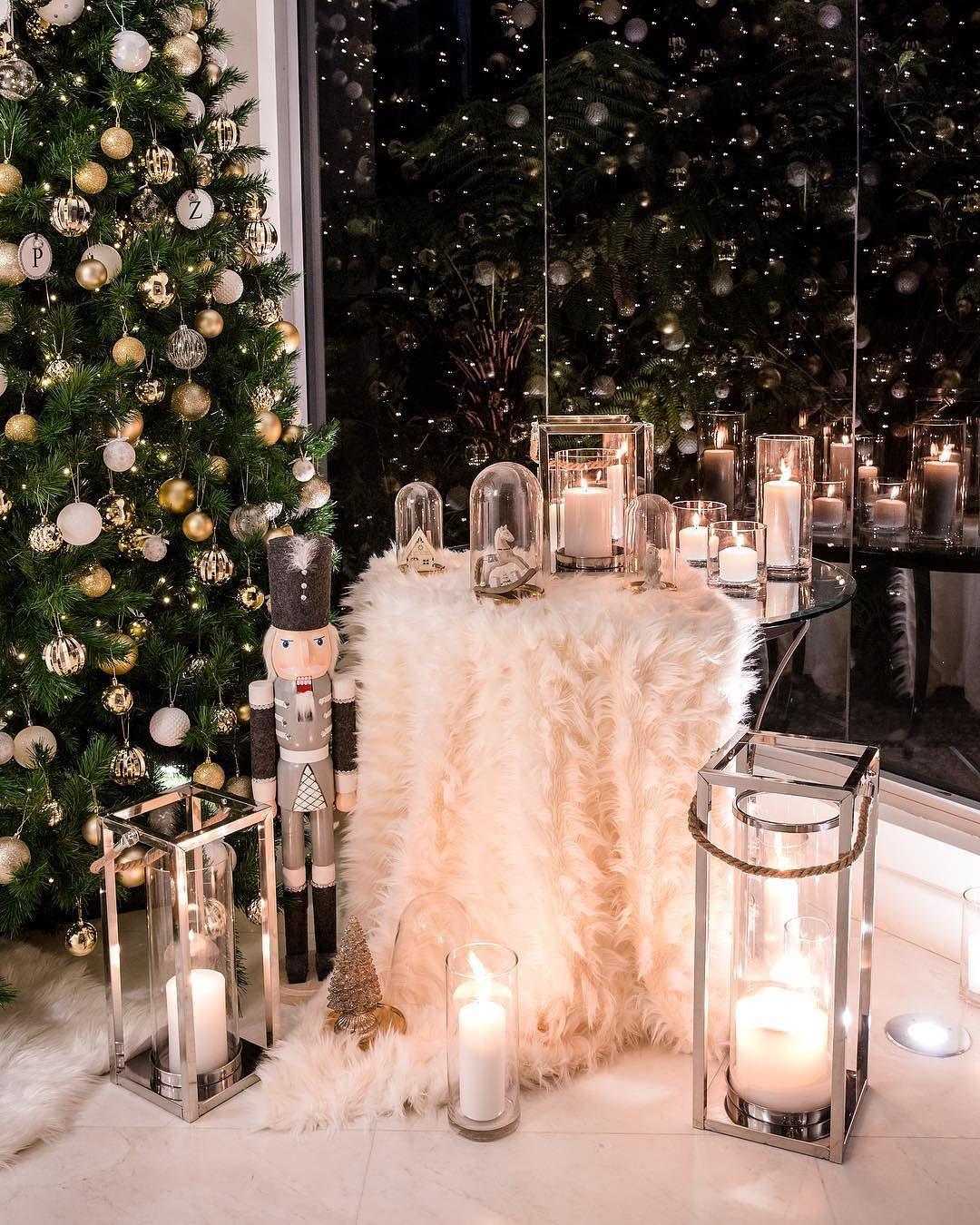 decoracion navidena con velas led o electricas (2)