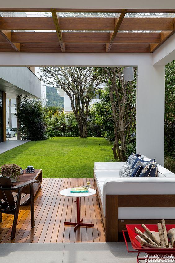Palapas o pergolas para el jard n ideas y dise os 2018 Disenos de casas contemporaneas pequenas