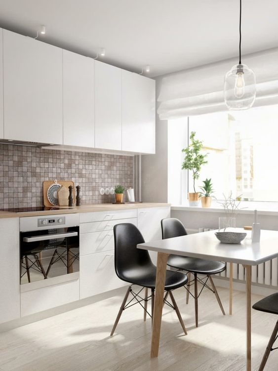 Diseño y decoración de cocinas pequeñas modernas - Curso de ...